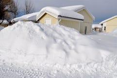 Winter in Skandinavien stockbild