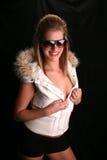 Winter Ski Babe Hannah Royalty Free Stock Images