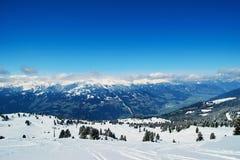 Winter ski reasort Stock Photo