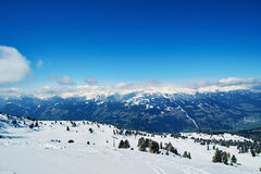 Winter ski reasort Royalty Free Stock Image