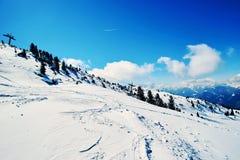 Winter ski reasort Royalty Free Stock Images