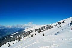 Winter ski reasort Royalty Free Stock Photo