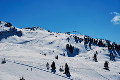 Winter ski reasort Royalty Free Stock Photo