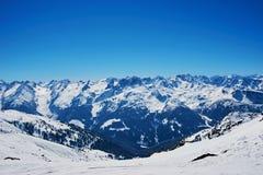 Winter ski reasort Stock Photography