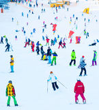 Winter ski resort Royalty Free Stock Photos