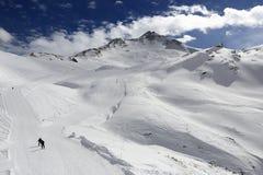 Winter ski resort of Tignes-Val d Isere, France Stock Photography