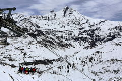Winter ski resort of Tignes-Val d Isere, France Stock Image