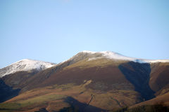 Winter on Skiddaw Royalty Free Stock Photography