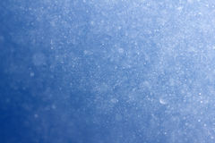Winter sky blue with snow Royalty Free Stock Photos