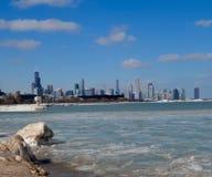 Winter-Skyline Lizenzfreie Stockfotografie