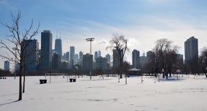 Winter Skyline Stock Images
