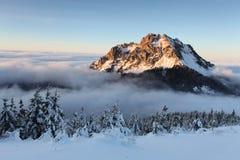 Winter Slovakia mountain landscape Stock Photography