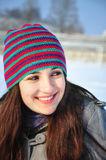 Winter smile Royalty Free Stock Image