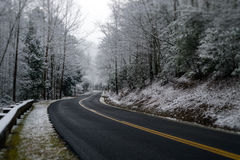 Winter in Smoky Mountain Royalty Free Stock Photography