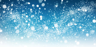 Winter snow abstract Royalty Free Stock Image