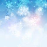 Winter Snow Background Stock Photos