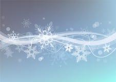 Winter snow  background. Stock Image