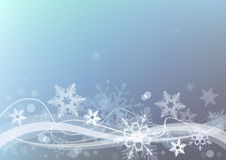 Winter snow  background. Royalty Free Stock Photo