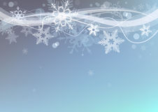 Winter snow  background. Royalty Free Stock Photography