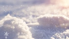 Winter snow background, blue color, snowflakes, Winter snow background, blue color, snowflakes, sunlight, macro. Winter frosty morning. Winter snow background royalty free stock photography