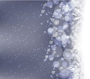 Winter snow background Stock Photography