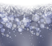 Winter snow background Royalty Free Stock Image