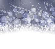 Winter snow background Stock Images