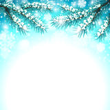 Winter Snow Background Royalty Free Stock Images