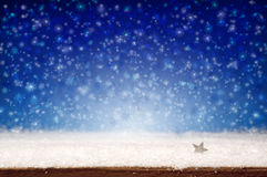 Winter snow background. Royalty Free Stock Images