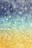 Winter snow background with magic bokeh effect. Glitter abstract festive background royalty free stock photo