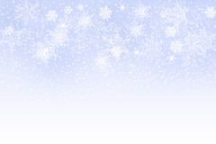 Winter: Snow background. For your own creations Stock Images