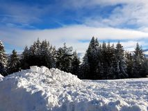 Winter and Snow Royalty Free Stock Photos