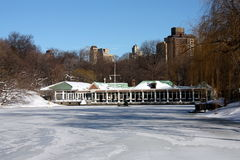 Winter Snow in Central Park Royalty Free Stock Image