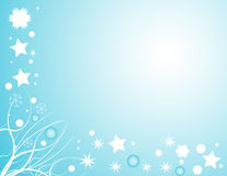 Winter snow design Royalty Free Stock Images