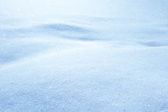 Winter Snow Drifts Stock Image