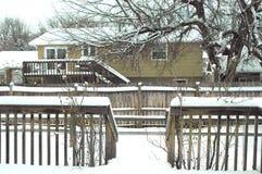 Winter snow. Royalty Free Stock Image