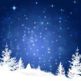 Winter Snow Hills Royalty Free Stock Photos