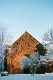 Winter Snow in Shrewsbury, UK Stock Photo