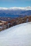 Winter Snow Mountain Landscape Royalty Free Stock Photo