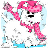 Winter snow play Royalty Free Stock Photos