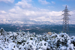 Winter Snow Scenery Royalty Free Stock Images