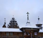 Sankt-Petersburg church architecture religion sky winter snow. Winter snow sky architecture church history building religion Stock Photography