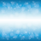 Winter snow or snowflake Royalty Free Stock Photo