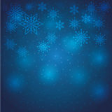 Winter snow or snowflake Royalty Free Stock Photos