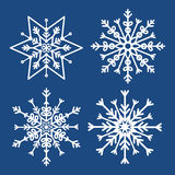 Winter snow or snowflake Stock Images