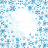 Winter snow or snowflake Stock Photos