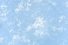 Winter snow surface Royalty Free Stock Photography