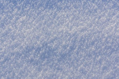 Winter snow surface Stock Images
