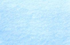 Winter snow surface (macro) Royalty Free Stock Photos