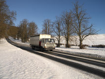 Winter snow in the United Kingdom Royalty Free Stock Photos